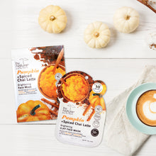 Pumpkin + Spiced Chai Latte Sheet Face Mask