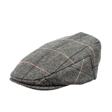 Knuckleheads Oliver Driver Baby Boy Jeff Hat Vintage Tweed Flat Pageboy Kid Gatsby Cap