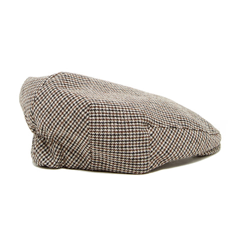 Knuckleheads Houndstooth Driver Flat Cap For Toddlers