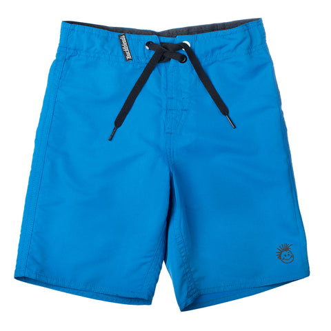 Knuckleheads Blue Swim Trunks Baby Boy Kids Grey Blue Shorts
