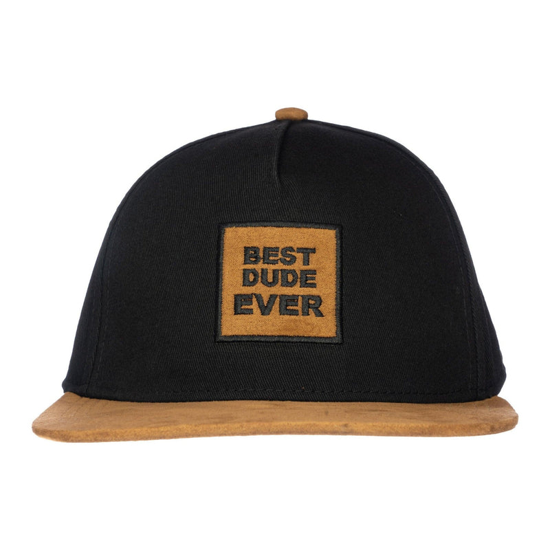Best Dude Ever Knuckleheads Baby Boy Infant Trucker Hat Sun Mesh Baseball Cap Black Brown snapback flat bill