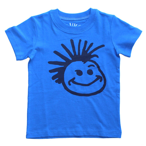 Knuckleheads Blue Classic Logo T-Shirt
