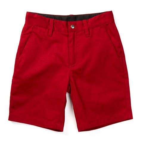 Burgundy Knuckleheads Baby Kids Chino Shorts