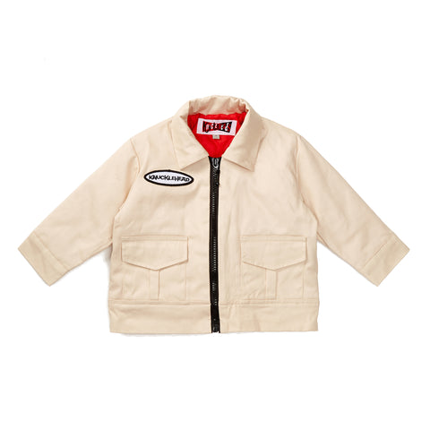 Tan Knuckleheads Mechanic Jacket with Long Sleeves