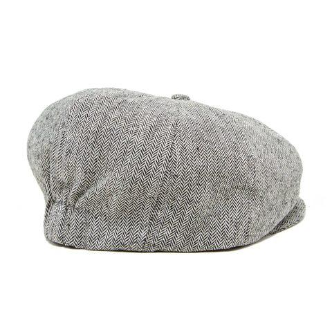 Knuckleheads Grey Bradley Newsboy Cap