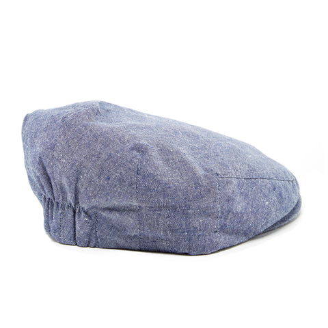 Knuckleheads Groovy Denim Flat Cap For Boys