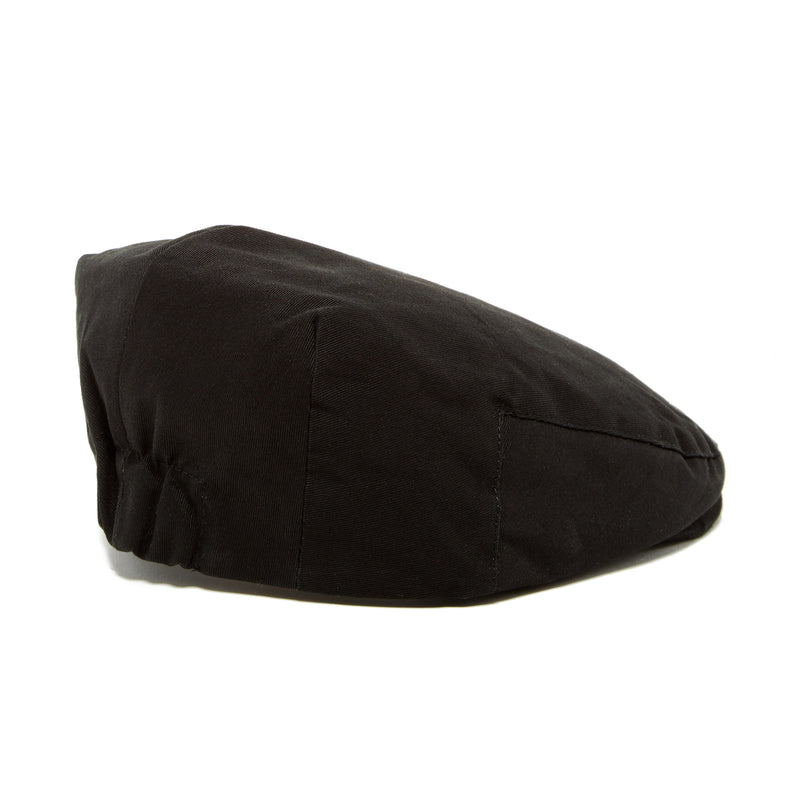 Knuckleheads Black Scally Flat Cap For Children