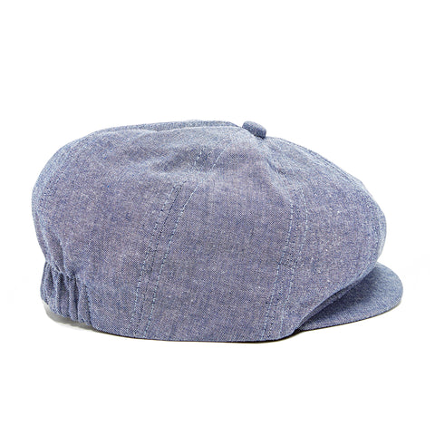 Knuckleheads Denim Groovy Newsboy Cap For Young Boys
