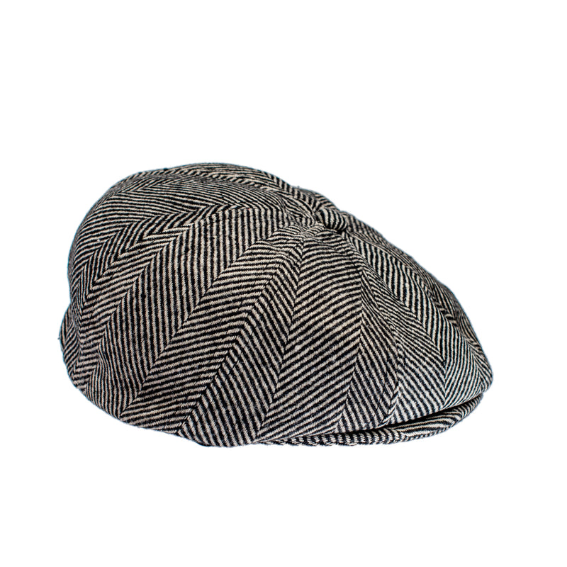 Knuckleheads London Newsboy Baby Boy Jeff Hat Vintage Tweed Flat Pageboy Kid Gatsby Cap
