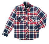 Monterey Quilted Long Sleeve Plaid Rockabilly Shirt