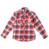 Stevie Long Sleeve Plaid Rockabilly Shirt