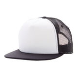 Black White Knuckleheads Trucker Hat