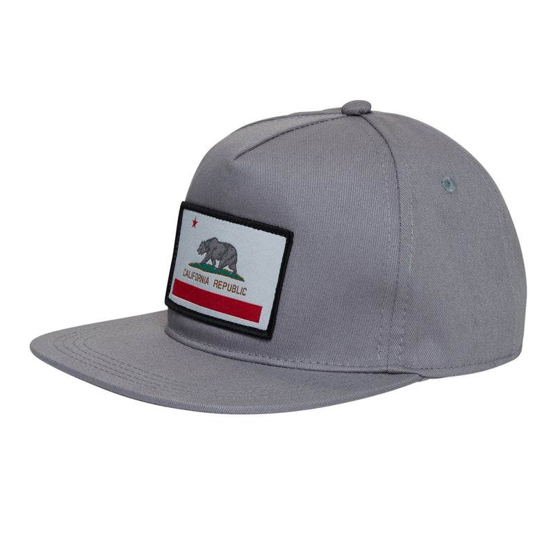 Knuckleheads Cali Rep Grey Baby Boy Infant Trucker Hat Sun Mesh Baseball Cap snapback flat bill