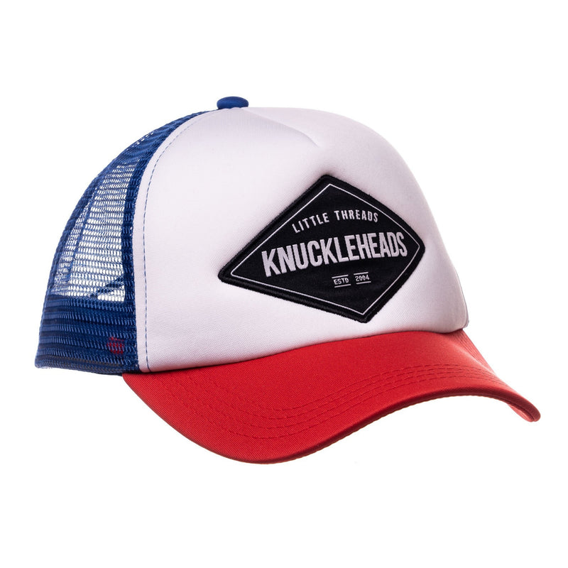 Knuckleheads Carter Baby Boy Infant Trucker Hat Sun Mesh Baseball Cap snapback flat bill