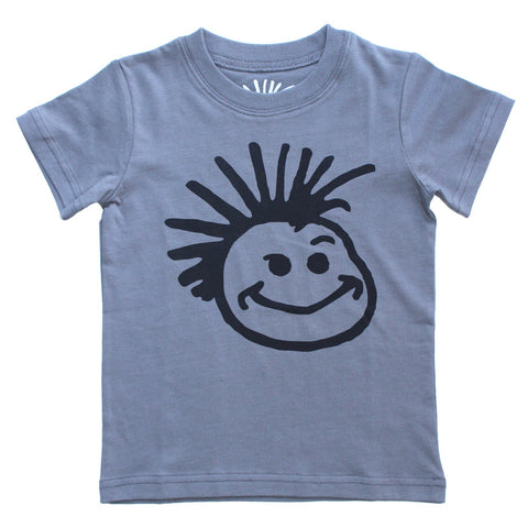 Knuckleheads Grey Classic Logo T-Shirt