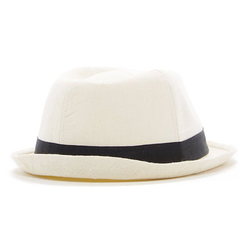 Knuckleheads White Fedora