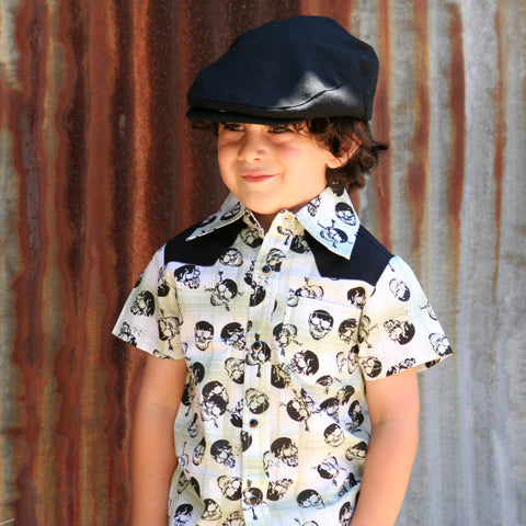Knuckleheads Skulls Rockabilly Shirt