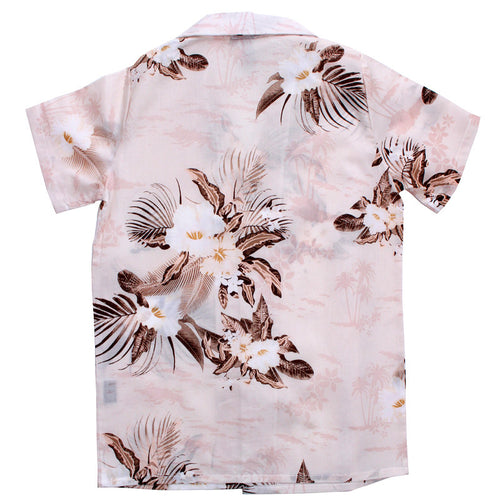 Knuckleheads Peace Out Floral Palm Hawaiian Shirt