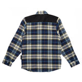 Knuckleheads Transit Long Sleeve Blue Flannel Shirt
