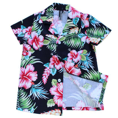 Knuckleheads Bright Floral Hawaiian Shirt