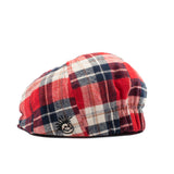 Knuckleheads Plaid Newsboy Cap