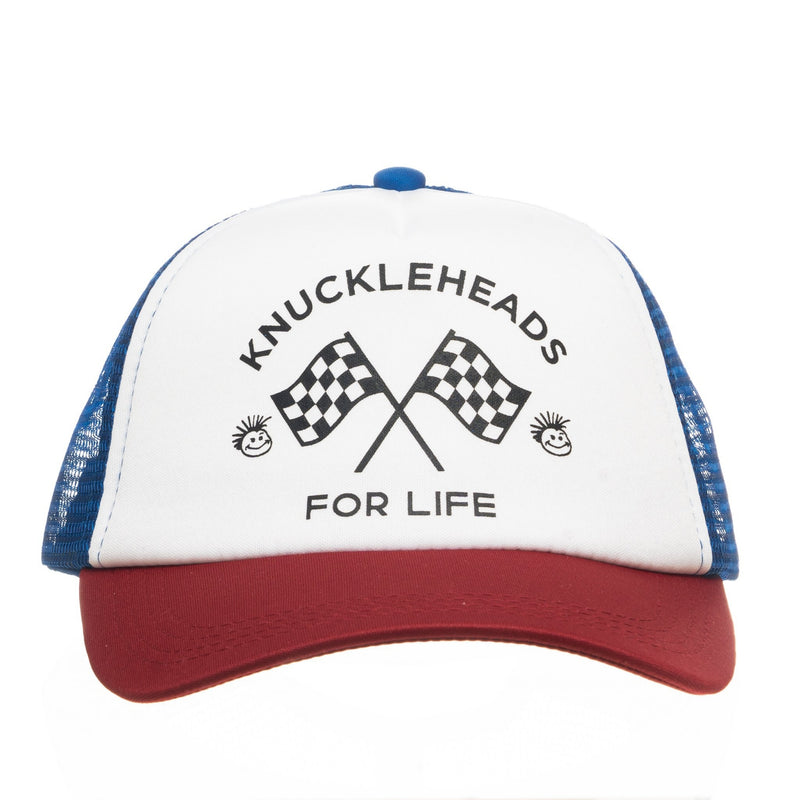 Knuckleheads for Life Baseball  Trucker Hat snapback flat bill sun mesh
