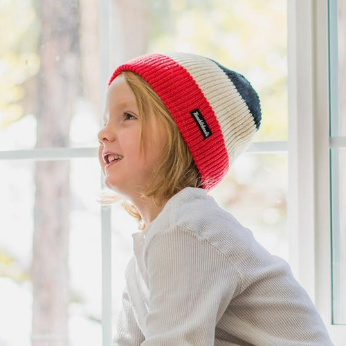 Knuckleheads BWR Ski Slouchy Beanie For Toddlers