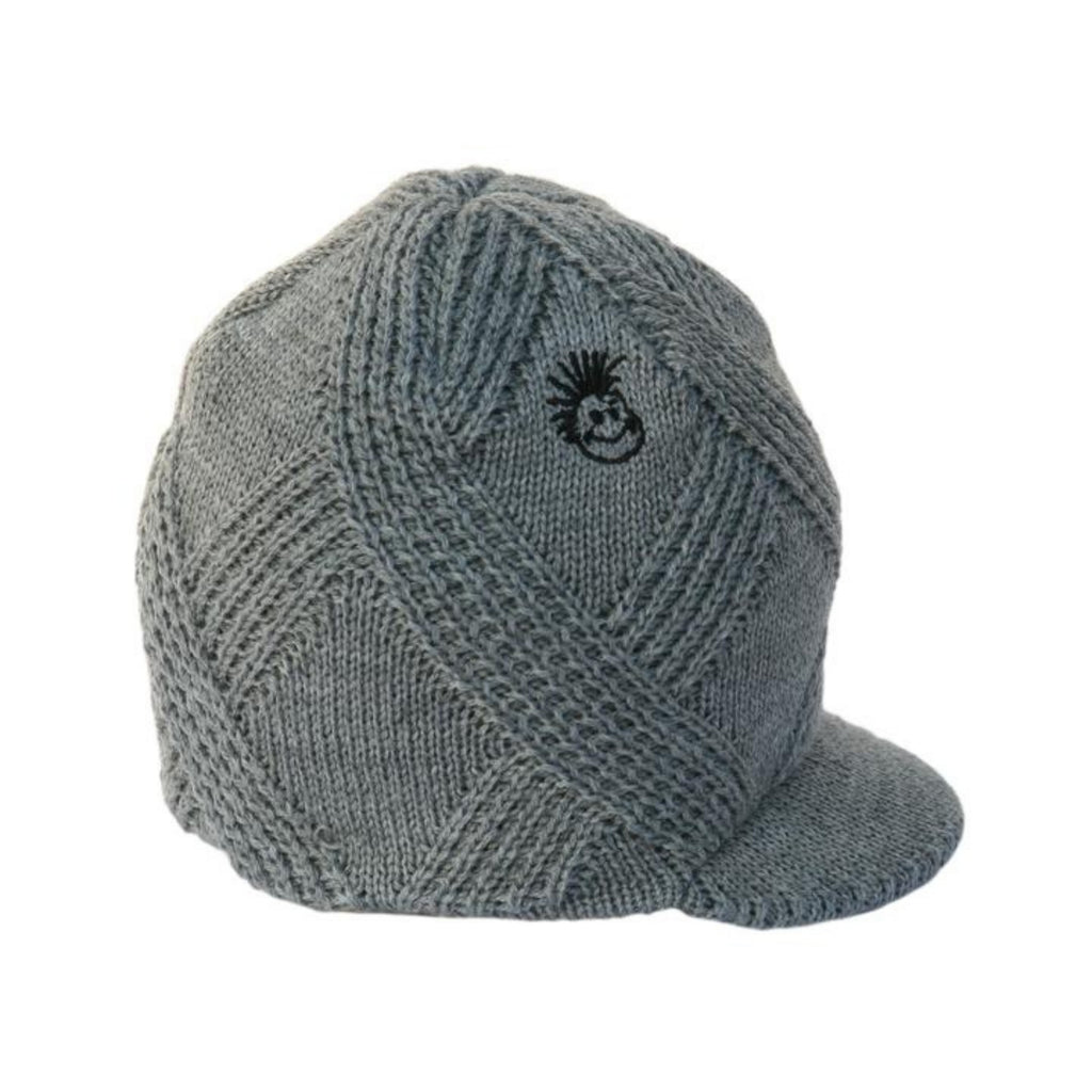 Knuckleheads Grey Visor Beanie For Toddlers