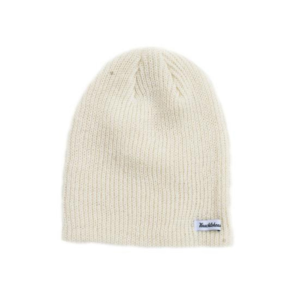 Knuckleheads Ivory Slouchy Beanie For Kids