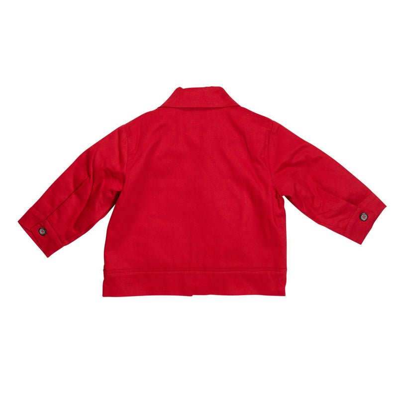 Red Knuckleheads Mechanic Jacket with Long Sleeves