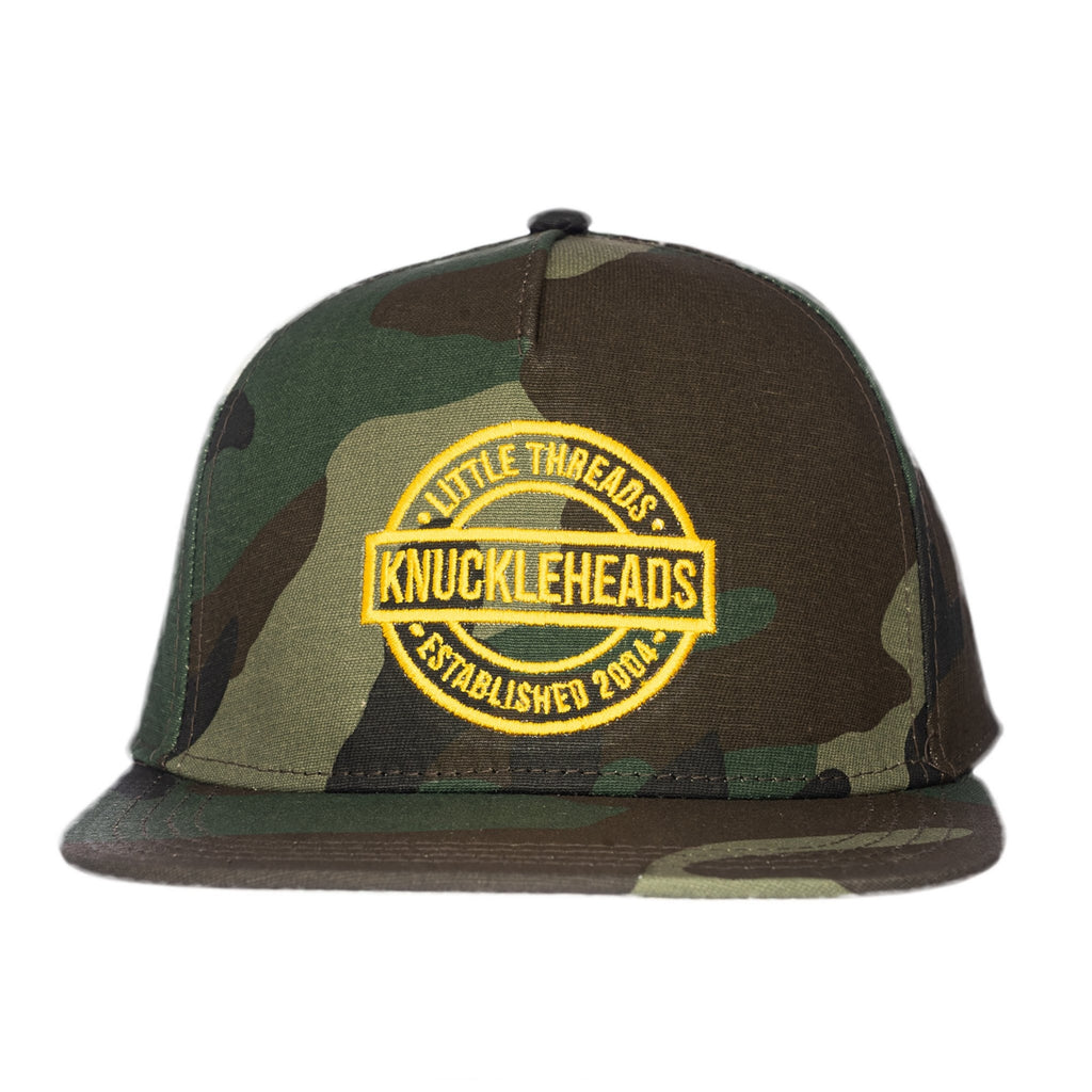 One Day Camo Knuckleheads Baby Boy Infant Trucker Hat Sun Mesh Baseball Cap snapback flat bill
