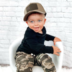 USA Oath Knuckleheads Baby Boy Infant Trucker Hat Sun Mesh Baseball Cap snapback flat bill