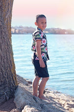 Black Knuckleheads Baby Kids Chino Shorts