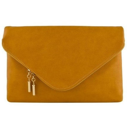 Large Envelope Clutch (Mustard)
