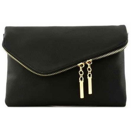 Small Envelope Clutch (Black)