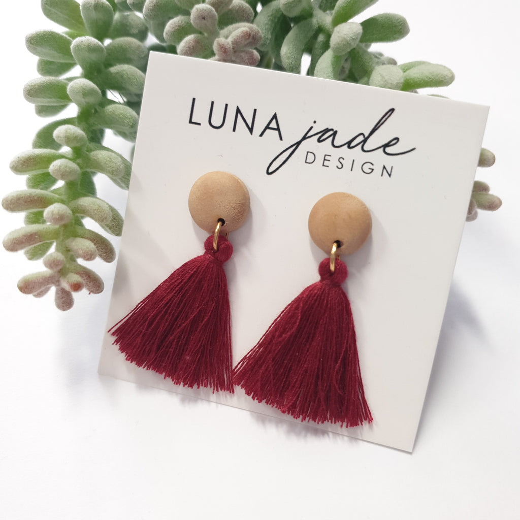 MINI WOOD TASSELS #33