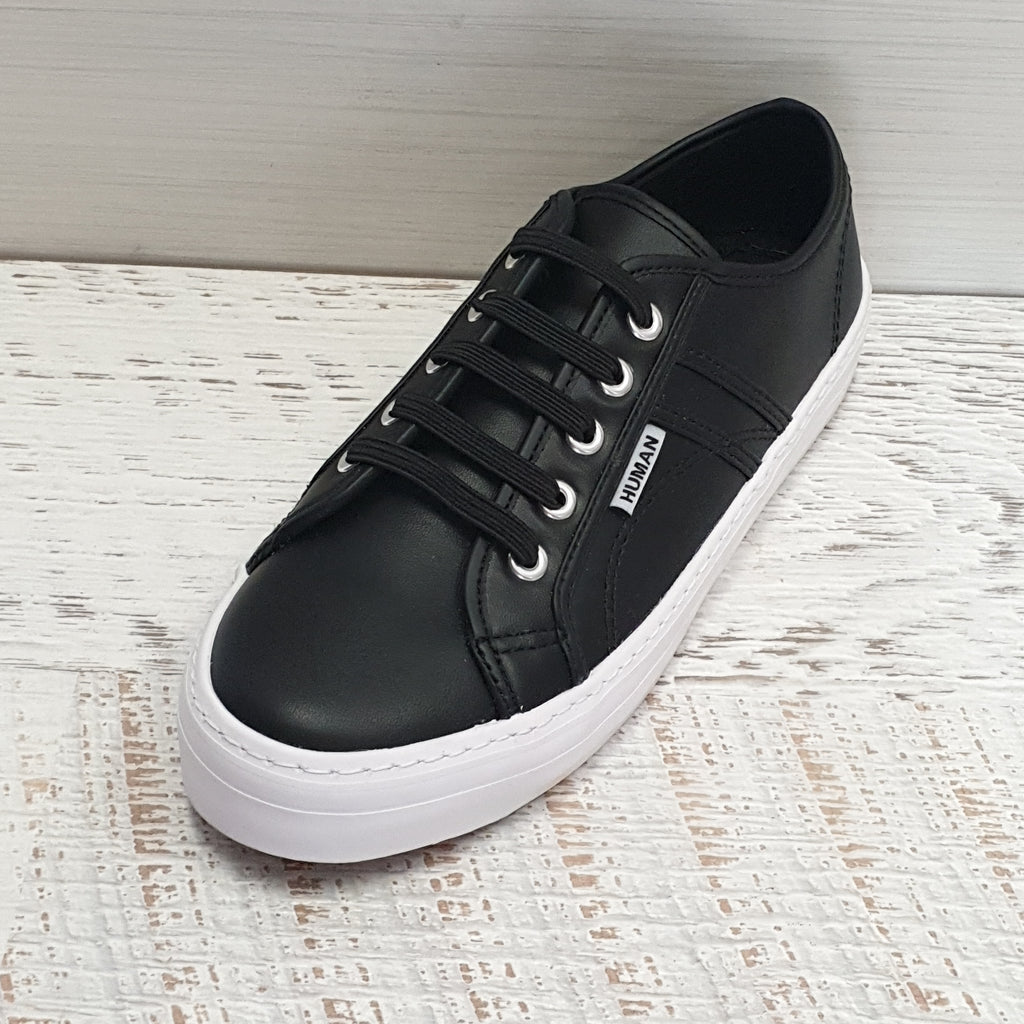 NO-TIE SHOELACES - BLACK
