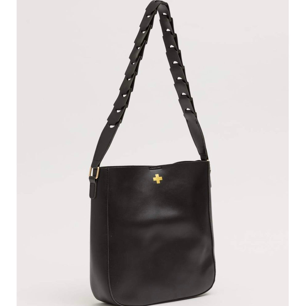 GREENWICH TOTE BAG - BLACK