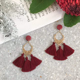 WATERFALL TASSEL EARRINGS #560