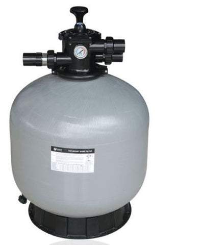 "EMAUX V650 FIBREGLASS 25"" TOP MOUNT SAND FILTER - Impeccable Pools"