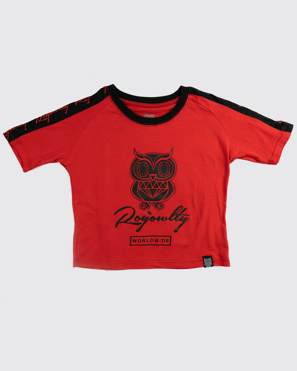 Originals Crop top(short sleeve)- Red
