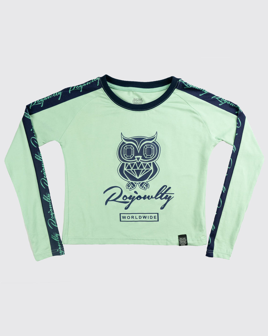 Originals Crop top(long sleeve)- Mint