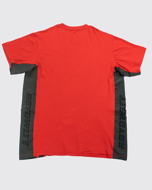 Rainbow Reflective Tee-Red