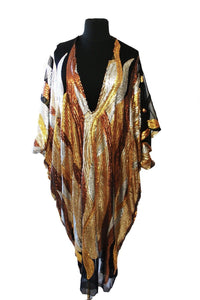 D'oro Kaftan Dress