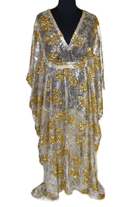 Aniece Sequin Kaftan