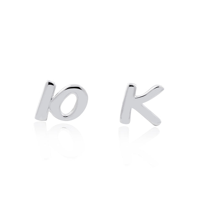 10K Distance Stud Earrings