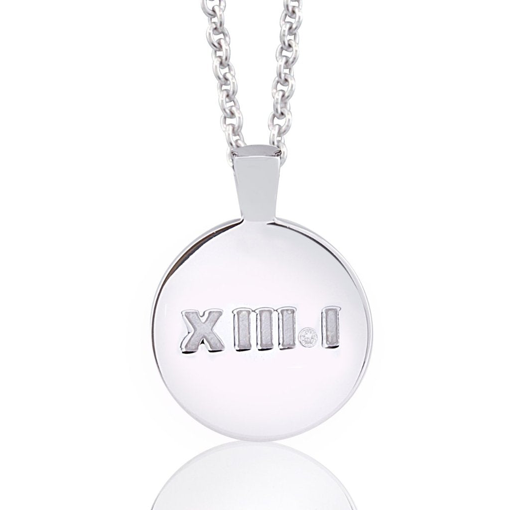 Diamond Half Marathon Necklace XIII.I