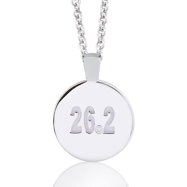 Diamond Marathon Necklace 26.2
