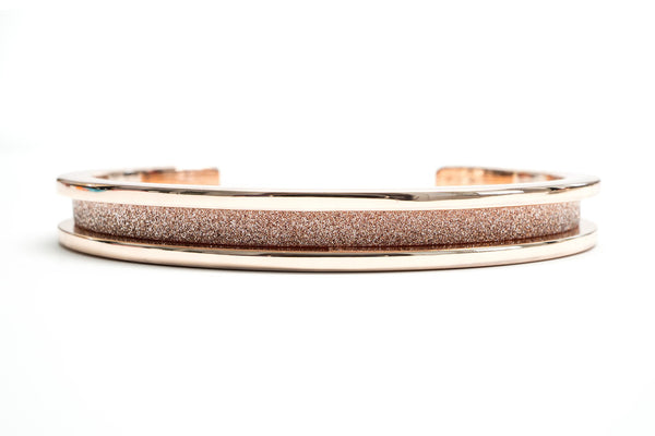 Rose Gold Glitz Hair Tie Bracelet
