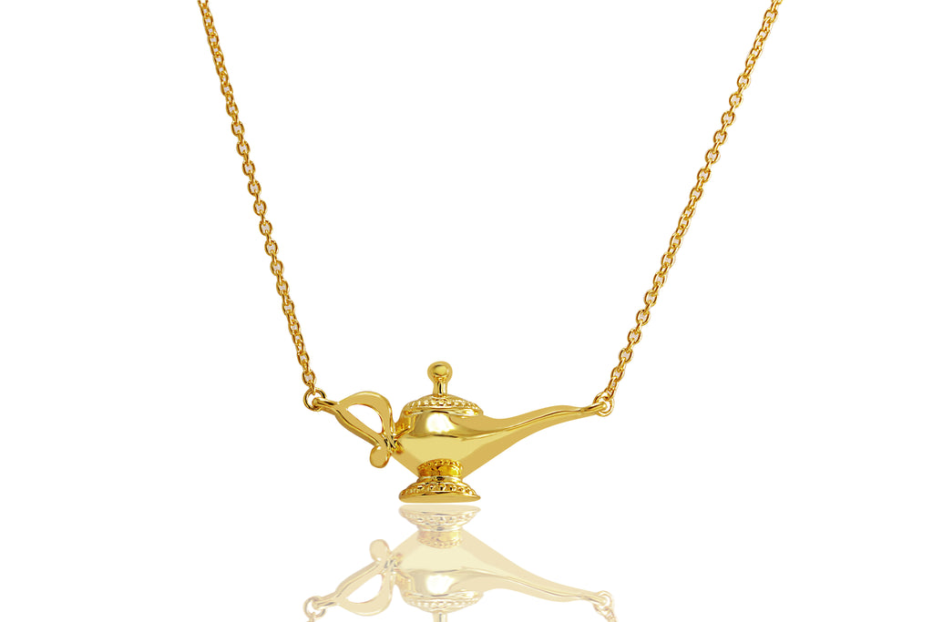 Genie Lamp Necklace